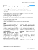"Báo cáo y học: "" Treatment of candidemia and invasive candidiasis in the intensive care unit: post hoc analysis of a randomized, controlled trial comparing micafungin and liposomal amphotericin """
