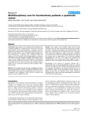 "Báo cáo y học: ""Multidisciplinary care for tracheostomy patients: a systematic review"""