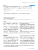 "Báo cáo y học: ""Combination effect of antithrombin and recombinant human soluble thrombomodulin in a lipopolysaccharide induced rat sepsis model"""