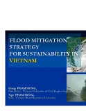 FLOOD MITIGATION STRATEGY FOR SUSTAINABILITY IN VIETNAM