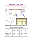 "Hydroelectric Power in Vietnam (VNCOLD Document for the Meeting of ICOLD Committee on ""Dams for Hydroelectric Energy"" (DHE), 2008)"