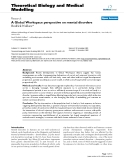 "Báo cáo y học: ""A Global Workspace perspective on mental disorders"""