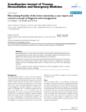 "Báo cáo y học: ""Necrotizing Fasciitis of the lower extremity: a case report and current concept of diagnosis and management"""