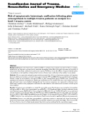 """Báo cáo y học: """"Risk of symptomatic heterotopic ossification following plate osteosynthesis in multiple trauma patients: an analysis in a level-1 trauma centre"""""""