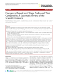 "Báo cáo y học: ""Emergency Department Triage Scales and Their Components: A Systematic Review of the Scientific Evidence"""
