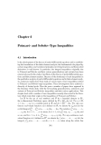 Mathematical Inequalities - Chapter 4