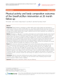 "Báo cáo y học: ""Physical activity and body composition outcomes of the GreatFun2Run intervention at 20 month follow-up"""