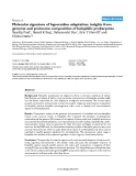 "Báo cáo y học: ""Molecular signature of hypersaline adaptation: insights from genome and proteome composition of halophilic prokaryote"""