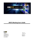 Meshing User's Guide  ANSYS phần 1