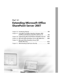 Microsoft Office SharePoint Server 2007 administrators companion phần 9