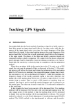 Fundamentals of Global Positioning System Receivers A Software Approach - Chapter 8