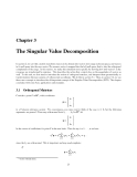 CS 205 Mathematical Methods for Robotics and Vision - Chapter 3
