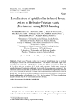 """Báo cáo sinh học: """"Localisation of aphidicolin-induced break points in Holstein-Friesian cattle (Bos taurus) using RBG-banding"""""""