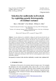 """Báo cáo sinh học: """"Selection for uniformity in livestock by exploiting genetic heterogeneity of residual variance"""""""