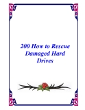 200 How to Rescue Damaged Hard Drives