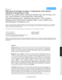 "Báo cáo y học: ""Discovery of estrogen receptor α target genes and response elements in breast tumor cells"""