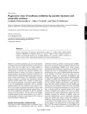 """Báo cáo y học: """"A genomic view of methane oxidation by aerobic bacteria and anaerobic archaea"""""""