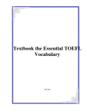 The Essential TOEFL Vocabulary