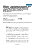 """Báo cáo y học: """"The proteome of Toxoplasma gondii: integration with the genome provides novel insights into gene expression and annotation"""""""