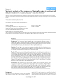 """Báo cáo y học: """" Systemic analysis of the response of Aspergillus niger to ambient pH"""""""