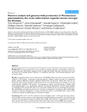 "Báo cáo y học: ""Genome analysis and genome-wide proteomics of Thermococcus gammatolerans, the most radioresistant organism"""