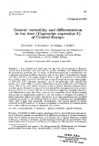"""Báo cáo sinh học: """"Genetic variability and differentiation in roe deer (Capreolus capreolus L) of Central Europe"""""""