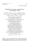 """Báo cáo sinh học: """"Guidelines for gene nomenclature in ruminants 1991 E Andresen"""""""