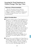 The Guide to Clinical Preventive Services 2008 - part 9