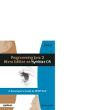 Programming java 2 micro edition for symbian os phần 1