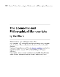 The Economic and Philosophical Manuscripts phần 1