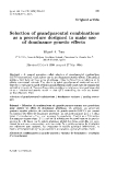 "Báo cáo khoa hoc:"" Selection of as grandparental combinations a procedure designed to make use of dominance genetic effects"""