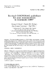 "Báo cáo khoa hoc:"" Revised COGNOSAG guidelines for gene nomenclature in ruminants """