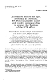 """Báo cáo khoa hoc:"""" Alternative models for QTL detection in livestock. III. Heteroskedastic model and models corresponding to several distributions of the QTL effect"""""""