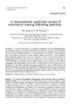 "Báo cáo sinh học: "" A deterministic multi-tier model of assortative mating following selection"""