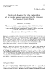 "Báo cáo sinh học: ""Optimal design for the detection of a major gene segregation in crosses"""