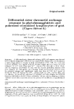 """Báo cáo sinh học: """" Differential sister chromatid exchange response in phytohemagglutinin and pokeweed stimulated lymphocytes of goat (Capra hircus L)"""""""