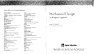 mechanical design an integrated approach Part 1