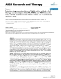 "Báo cáo y học: "" Injection drug use and patterns of highly active antiretroviral therapy use: an analysis of ALIVE, WIHS, and MACS cohort"""
