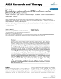 "Báo cáo y học: "" Elevated ethyl methanesulfonate (EMS) in nelfinavir mesylate (Viracept®, Roche): overview"""