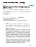 "Báo cáo y học: ""Antiretroviral treatment adherence and its determinants in Sub-Saharan Africa: a prospective study at Yaounde Central Hospital, Cameroon"""