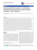 "Báo cáo y học: ""Cerebrospinal fluid neopterin: an informative biomarker of central nervous system immune activation in HIV-1 infection"""