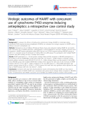 "Báo cáo y học: ""Virologic outcomes of HAART with concurrent use of cytochrome P450 enzyme-inducing antiepileptics: a retrospective case control study"""