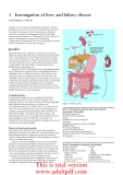 ABC OF LIVER, PANCREAS AND GALL BLADDER - PART 2