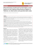 """Báo cáo y học: """"Ethnoveterinary treatments by dromedary camel herders in the Suleiman Mountainous Region in Pakistan: an observation and questionnaire study"""""""