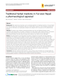 "Báo cáo y học: ""Traditional herbal medicine in Far-west Nepal: a pharmacological appraisal"""