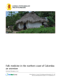 "Báo cáo y học: ""Folk medicine in the northern coast of Colombia: an overview"""
