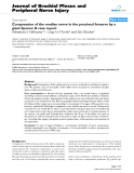 "Báo cáo y học: ""Compression of the median nerve in the proximal forearm by a giant lipoma: A case report"""