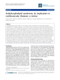 "Báo cáo y học: ""Antiphospholipid syndrome; its implication in cardiovascular diseases: a review"""