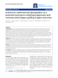 """Báo cáo y học: """"Autonomic cardiovascular dysregulation as a potential mechanism underlying depression and coronary artery bypass grafting surgery outcomes."""""""