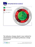 "báo cáo khoa học: ""The behaviour change wheel: A new method for characterising and designing behaviour change interventions"""